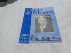 Blue Blood, Volume 1 Issue 1